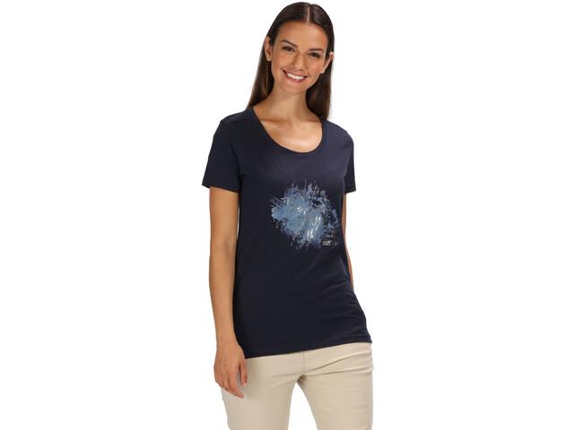 Regatta Filandra III T-Shirt Women navy/silver